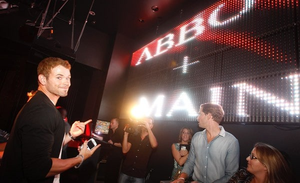 Kellan Lutz hosts the Dylan George and Abbot + Main Spring 2012 Launch and official PROJECT after party at Chateau Nightclub & Gardens on August 23, 2011 in Las Vegas, Nevada.