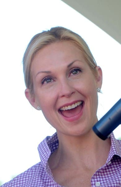 Kelly Rutherford attends the 3rd annual Roar for Cure Carnival at the East Hampton Indoor Tennis Club on August 20, 2011 in East Hampton, New York.