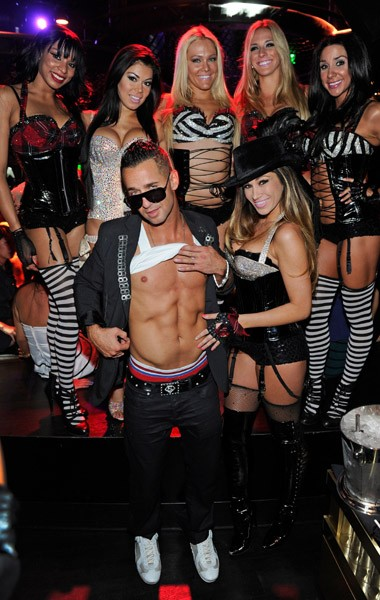 Television personality Mike 'The Situation' Sorrentino hosts the Gallery Nightclub at the Planet Hollywood Resort & Casino on August 12, 2011 in Las Vegas, Nevada.