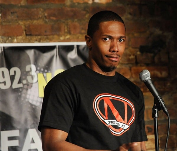 Actor/comedian Nick Cannon performs at The Stress Factory Comedy Club on August 4, 2011 in New Brunswick, New Jersey.