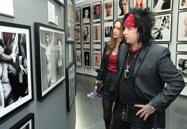 Musician/photographer Nikki Sixx during the IRIS Nights Lecture for BEAUTY CULTURE at the Annenberg Space for Photography on August 25, 2011 in Los Angeles, California.
