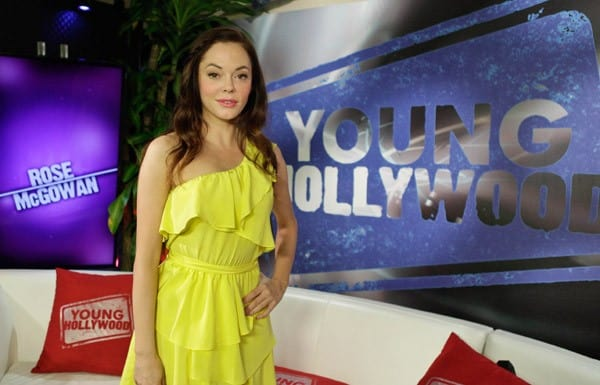 Actress Rose McGowan visits YoungHollywood.com at the Young Hollywood Studio on August 17, 2011 in Los Angeles, California.