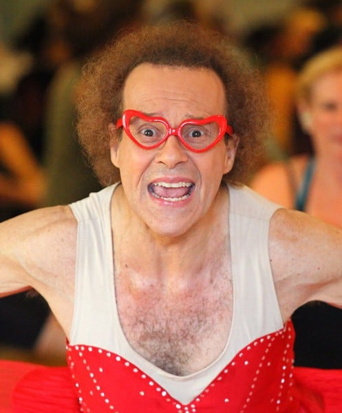 Richard Simmons is seen on August 30, 2011 in Los Angeles, California.