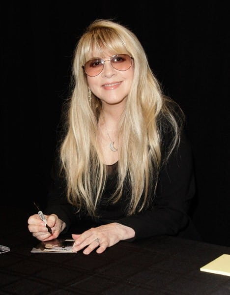 Stevie Nicks Meets Fans And Signs Copies Of Her New CD 'In Your Dreams' at Amoeba Music on August 3, 2011 in Hollywood, California.