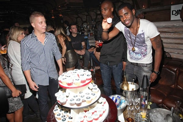 Jason Derulo attends his album release party at The Darby Restaurant on September 27, 2011 in New York City.
