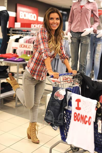 Television personality Audrina Patridge shops at Bongo at Sears on September 28, 2011 in Cerritos, California.