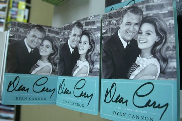 Dyan Cannon promotes the new book 'Dear Carey: My Life with Cary Grant' at Bookends Bookstore on September 22, 2011 in Ridgewood, New Jersey.