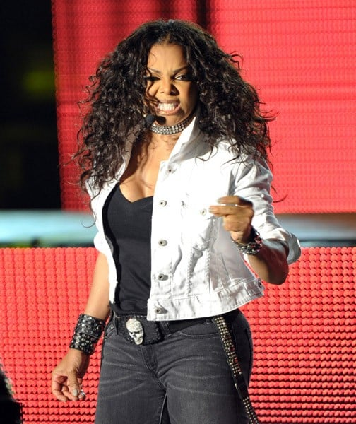 Singer Janet Jackson performs on her 'Number Ones: Up Close and Personal' tour at The Greek Theatre on September 1, 2011 in Los Angeles, California.
