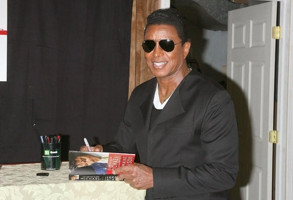 Jermaine Jackson promotes the new book 'You Are Not Alone: Michael Through A Brother's Eyes' at Bookends Bookstore on September 17, 2011 in Ridgewood, New Jersey.