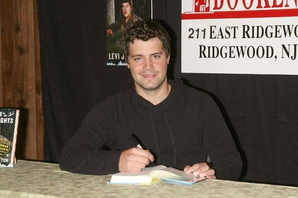 Levi Johnston promotes 'Deer In The Headlights' on September 20, 2011 in Ridgewood, New Jersey.