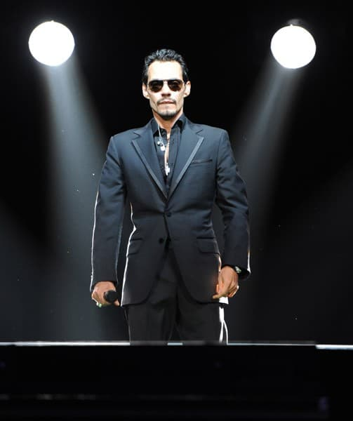 Marc Anthony performs at American Airlines Arena on September 16, 2011 in Miami, Florida.