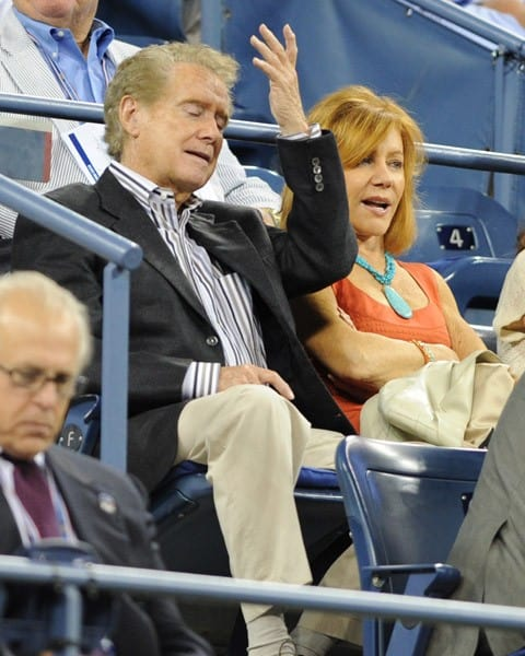 Joy & Regis Philbin Attend US Open