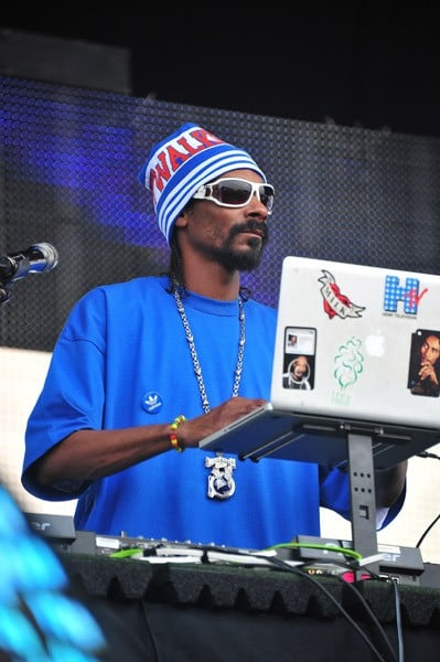 Snoop Dogg, aka DJ Snoopadelic, performs during 2011 Electric Zoo at Randall's Island Park on September 4, 2011 in New York City.