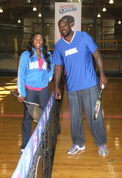 Venus Williams & Shaq In New York City