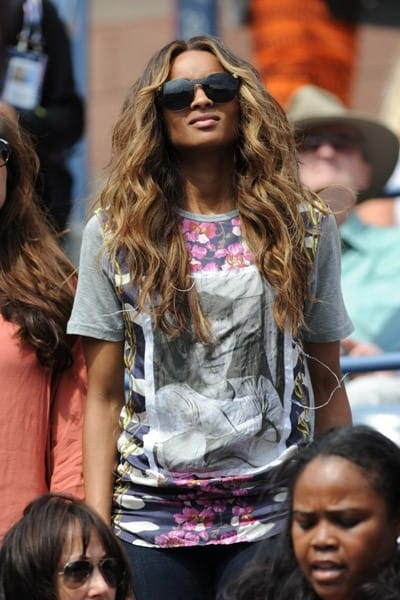 Ciara, Spike Lee, Vanessa Hudgens attends the 2011 US Open at USTA Billie Jean King National Tennis Center on September 5, 2011 in New York City.
