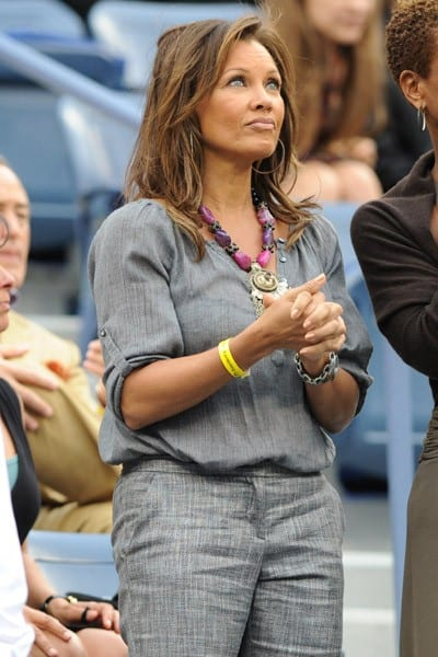 Celebrities Attend US Open in New York