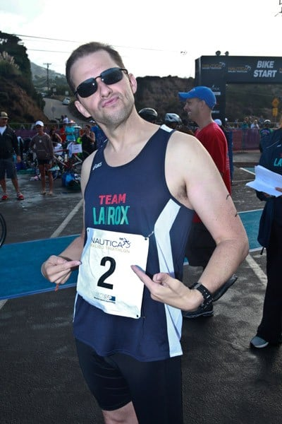 Jay Leno attends the 2011 Nautica Malibu Triathlon Sponsored by Herbalife on September 18, 2011 in Malibu, California.
