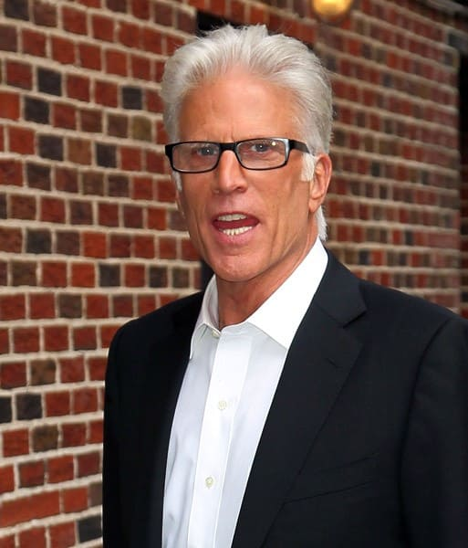 Actor Ted Danson arrives to 'Late Show With David Letterman' at the Ed Sullivan Theater on September 19, 2011 in New York City.