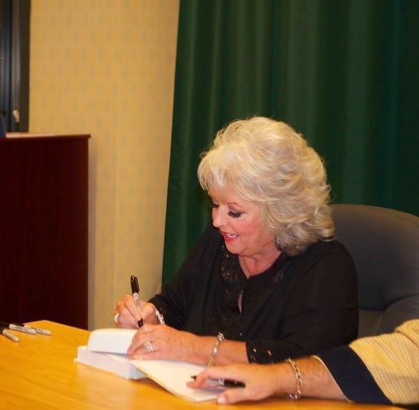 "Paula Deen's 'Southern Cooking Bible"" Book Signing at Barnes & Noble in Glendale, California on October 24, 2011"