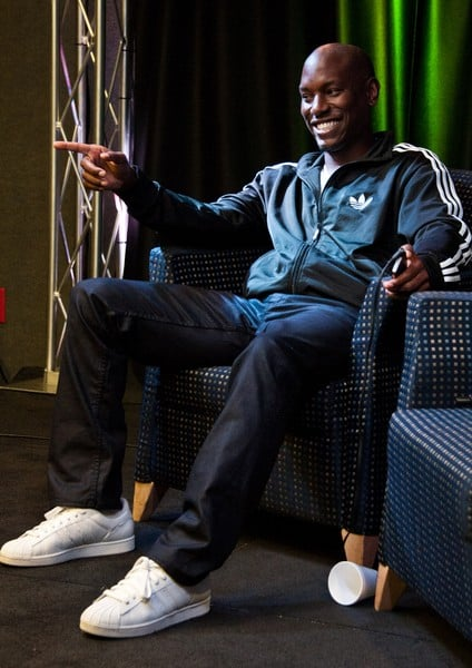 Tyrese Gibson Visits WDAS's Performance Theatre in Bala Cynwyd, Pennsylvania on October 10, 2011.