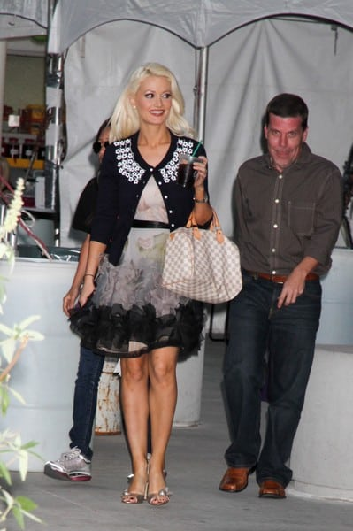 Holly Madison Signs Autographs at the 2nd Annual Nevada Wild Fest in Las Vegas, Nevada on October 12, 2011