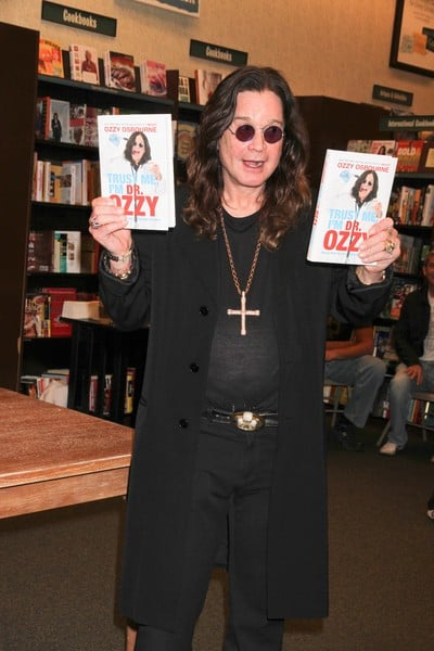 Ozzy Osbourne's 'Trust Me, I'm Dr. Ozzy: Advice from Rock's Ultimate Survivor' Book Signing at Barnes & Noble in Las Vegas, Nevada on October 20, 2011