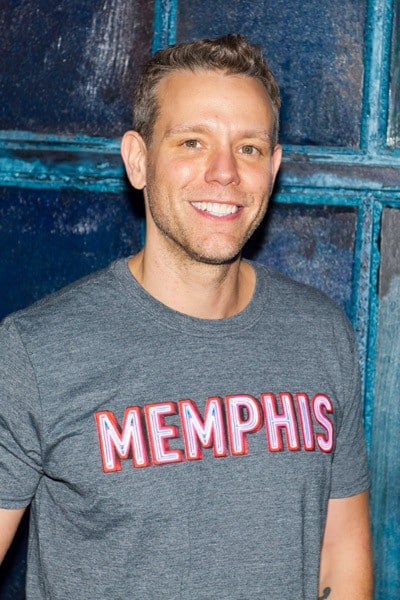 Actor Adam Pascal joins cast of 'Memphis' on Broadway at the Shubert Theatre on October 20, 2011 in New York City.