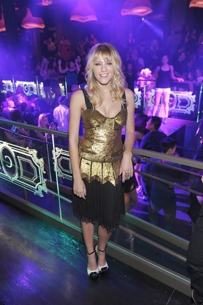 Brit Morgan celebrates her birthday at Chateau Nightclub & Gardens on October 1, 2011 in Las Vegas, Nevada.