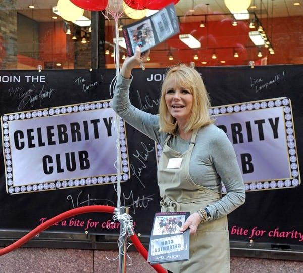 Cheryl Tiegs, Carol Alt, Dee Snider, Clay Aiken, Lou Ferrigno filming on location for 'Celebrity Apprentice' on October 18, 2011 in New York City.