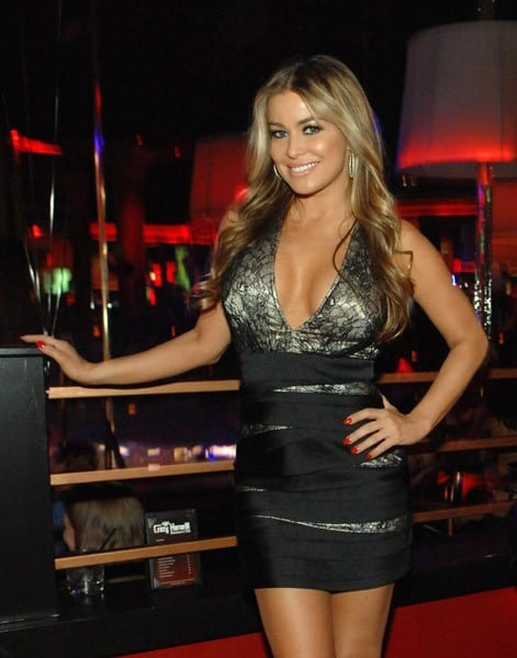 Carmen Electra attends the Two Year Anniversary Party At the Crazy Horse III in Las Vegas on October 21, 2011 in Las Vegas, Nevada.