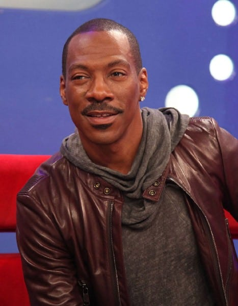 Eddie Murphy visits BET's '106 & Park' at the BET Studios on October 24, 2011 in New York City.
