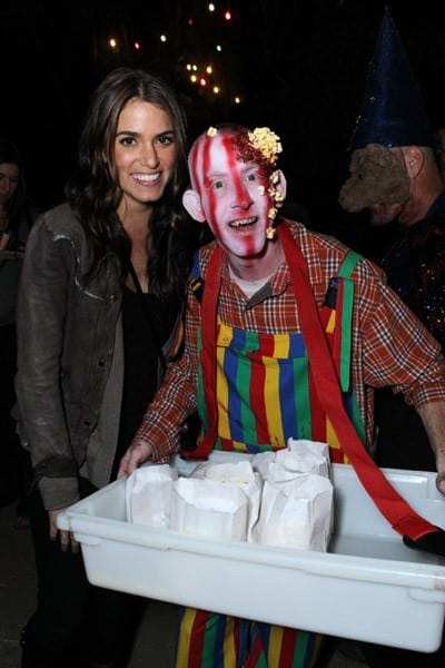 Nikki Reed, Bridget Marquardt and Melissa Rycroft at The 3rd Annual Los Angeles Haunted Hayride VIP Opening Night held at Griffith Park on October 9, 2011 in Los Angeles, California.