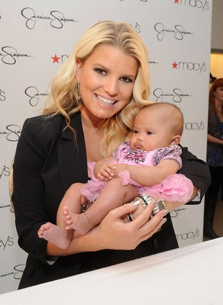 Jessica Simpson signs autographs for fans at an in-store appearance celebrating the launch of the Ready-To-Wear Jessica Simpson Collection at Macy's on October 1, 2011 in San Francisco, California.