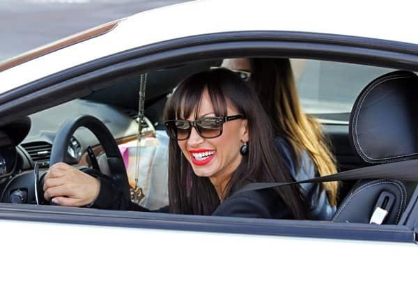 Karina Smirnoff sighting in Beverly Hills on October 14, 2011 in Los Angeles, California.