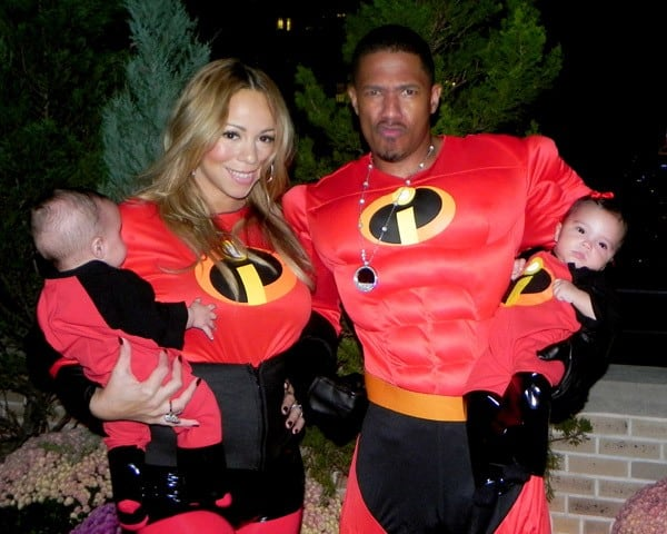 Moroccan Cannon, Mariah Carey, Nick Cannon and Monroe Cannon taken during the past six months as part of Mariah Carey and Nick Cannon's personal photo collection.