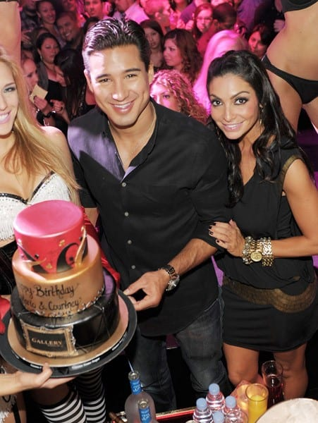 Mario Lopez celebrates his birthday at Gallery Nightclub at Planet Hollywood Resort & Casino on October 8, 2011 in Las Vegas, Nevada.