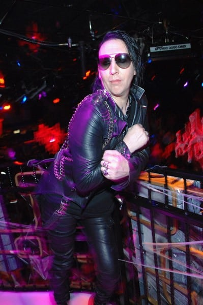 2-Marilyn Manson attends the Halloween Weekend With The 'Beautiful ...