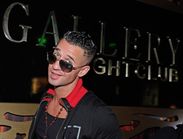 Television personality Mike 'The Situation' Sorrentino appears at the Gallery Nightclub at the Planet Hollywood Resort & Casino on October 15, 2011 in Las Vegas, Nevada.