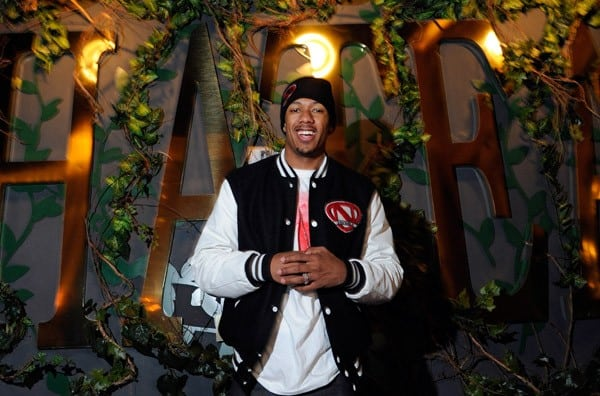 Nick Cannon celebrates his birthday at the first night of the grand opening of the Chateau Gardens at Paris Las Vegas on October 14, 2011 in Las Vegas, Nevada.