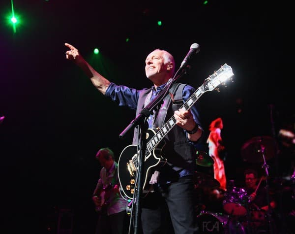 Peter Frampton performs in concert at ACL Live on October 18, 2011 in Austin, Texas.