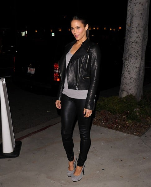 Paula Patton is seen on October 10, 2011 in Los Angeles, California.