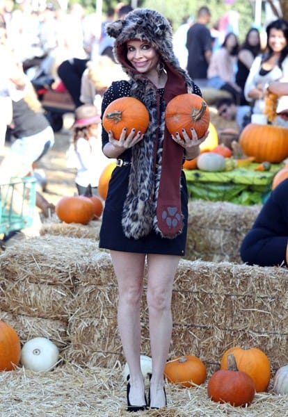 Phoebe Price is seen on October 23, 2011 in Los Angeles, California.
