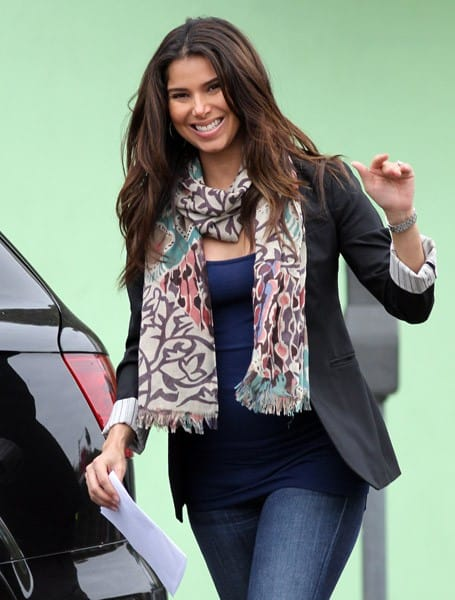 Roselyn Sanchez is seen shopping at el bambi in West Hollywood on October 25, 2011 in Los Angeles, California.