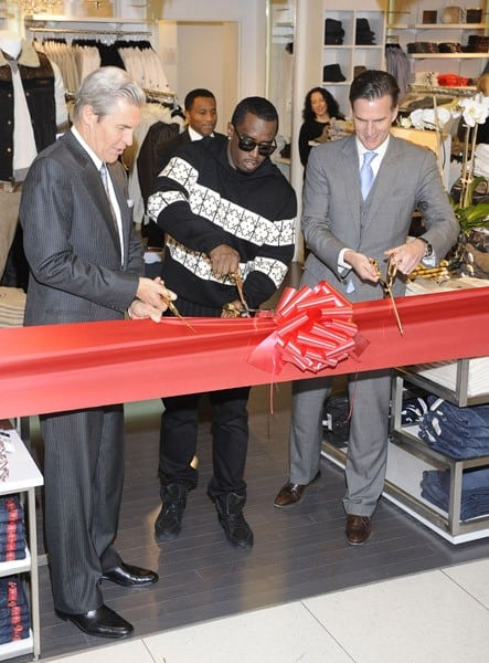 Sean Combs attends the Sean John Concept Store opening at Macy's Herald Square on October 25, 2011 in New York City.