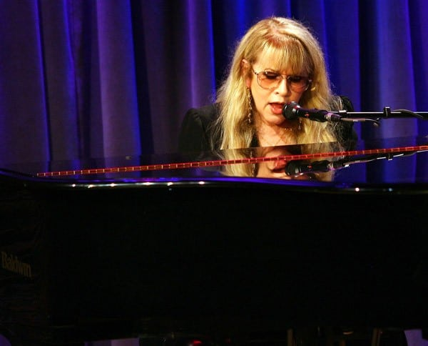 Stevie Nicks performs at 'GRAMMY Camp Soundcheck: Backstage Pass with Stevie Nicks' at The GRAMMY Museum on October 19, 2011 in Los Angeles, California.