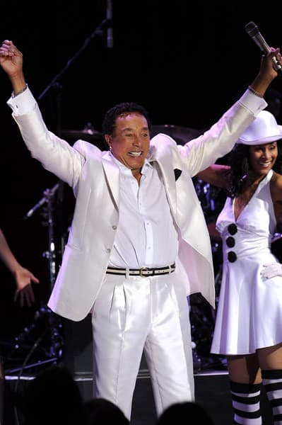 Smokey Robinson performs onstage at the 10th Annual Elton John AIDS Foundation's 'An Enduring Vision' benefit at Cipriani Wall Street on October 26, 2011 in New York City.
