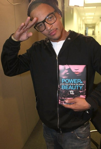 T.I. promotes 'Power and Beauty' at Hue-Man Bookstore & Cafe on October 18, 2011 in New York City.
