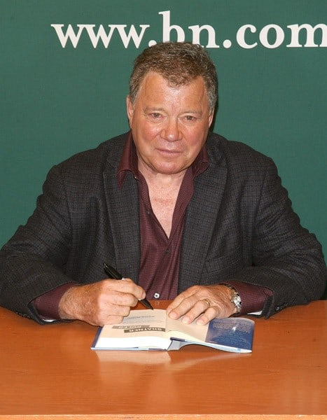 William Shatner promotes 'Shatner Rules' at the Barnes & Noble, 5th Avenue on October 6, 2011 in New York City.