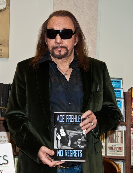 Ace Frehley 'No Regrets' Book Signing at Barnes & Noble Rittenhouse Square in Philadelphia, Pennsylvania on November 07, 2011