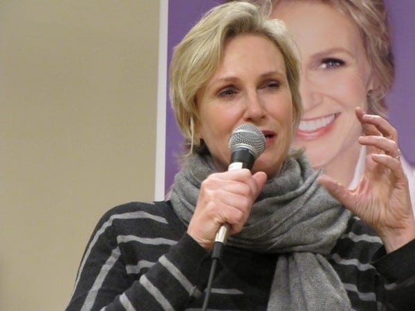 Jane Lynch's 'Happy Accidents' Book Signing at Santa Monica Public Library in Santa Monica, California on November 6, 2011